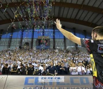 Gara 4 Semifinale PlayOff Scudetto Campionato Italiano di pallavolo maschile Serie A1 SuperLega UnipolSai 2015/16.  PalaEvangelisti Perugia, 24.04.2016